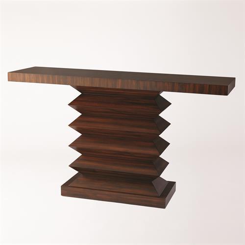 Zig Zag Console Table