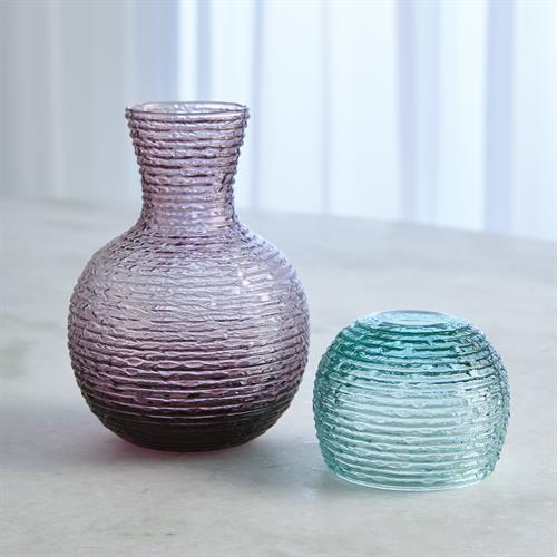 Bedside Carafe-Amethyst/Turquoise