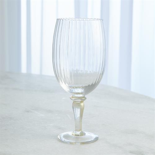Stemmed Iced Beverage-Light Gold