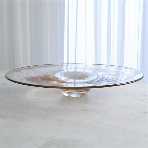 Bubbles Platter-Amber