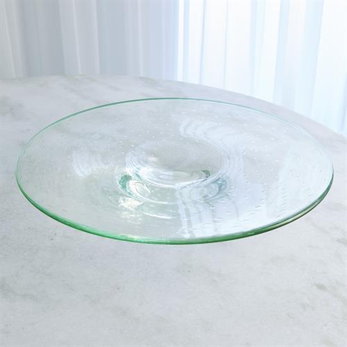 Bubbles Platter-Celadon