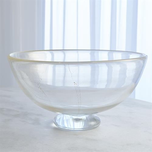 Granilla Footed Compote-Golden