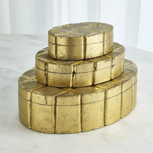 Cufflink Box-Gold