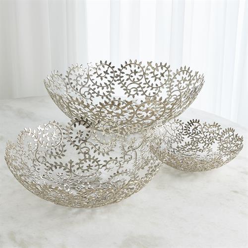 Leafy Bowls-Nickel