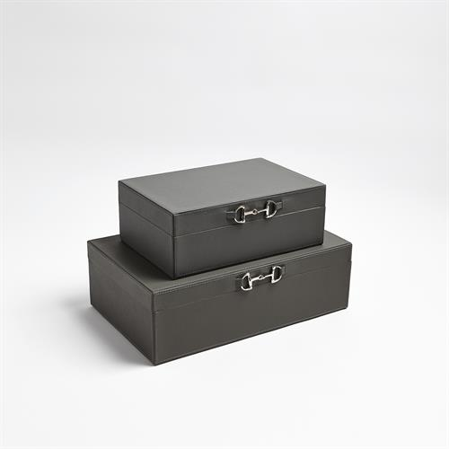 Stirrup Detail Box-Grey