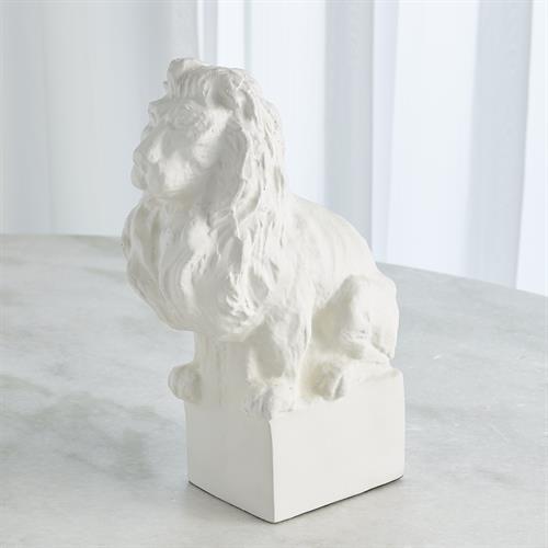 Lion-Matte White