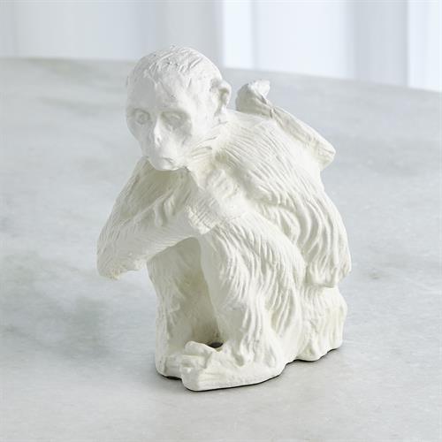 Monkey-Matte White
