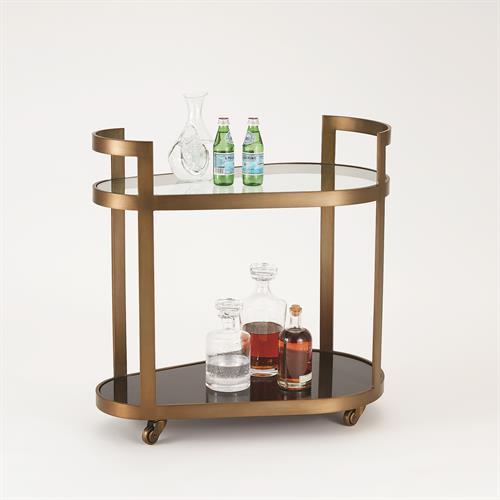 Regan Bar-Antique Brass