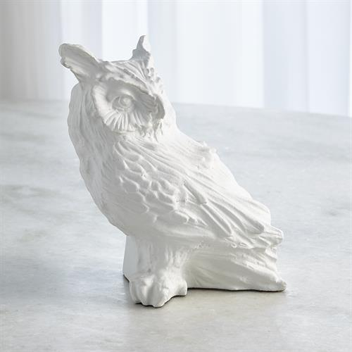 Owl-Matte White