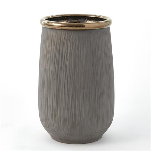 Flower Pot-Black/Copper