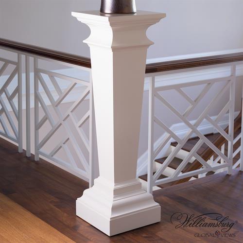 York Pedestal-Ivory