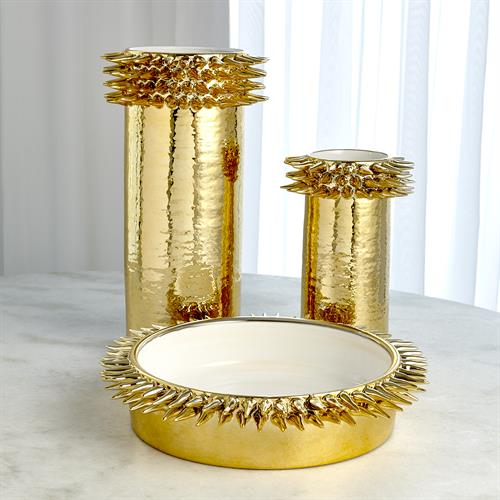 Spike Cylinder Collection-Gold