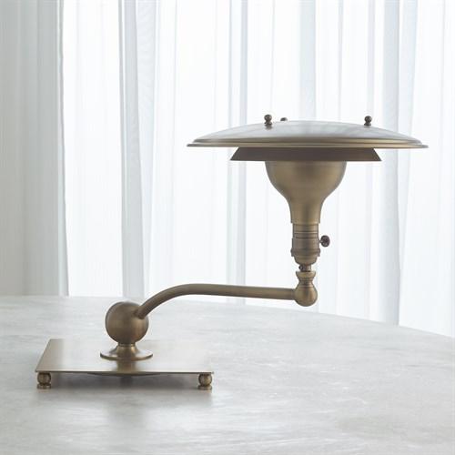 Saturn Lamp-Light Bronze