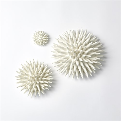 Urchin Wall Art-White