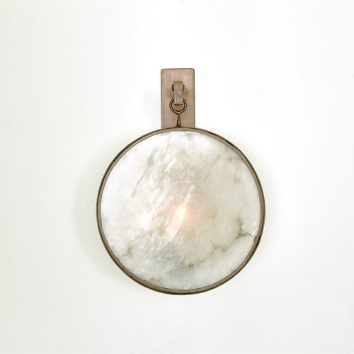 Anya Wall Sconce-Black/Bronze