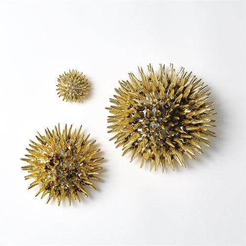 Urchin Wall Art-Gold