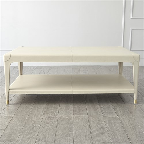 Tiburtina Cocktail Table-Mist Leather