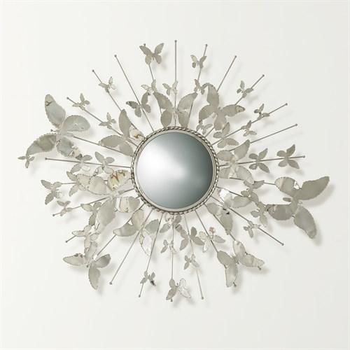Butterfly Mirror-Nickel