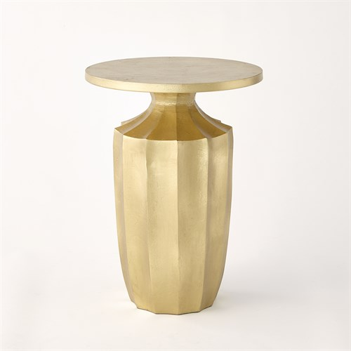 Flirt Drink Table-Gold Leaf