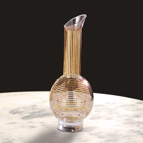 Gold Stripe Wine Decanter-Sphere