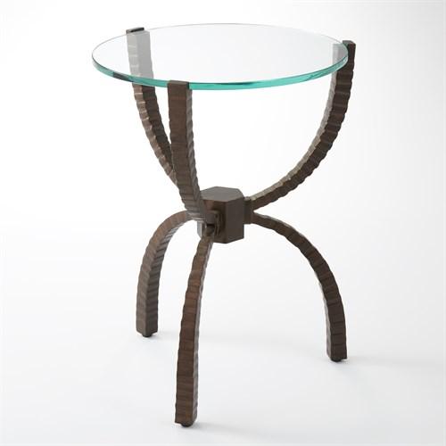 Teton Accent Table-Bronze