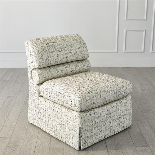 Bolster Slipper Chair
