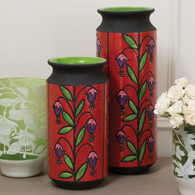 Global Views Products Emmas Fuschia Vase