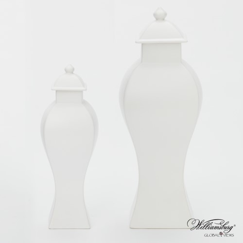 Garniture Urn-Matte White
