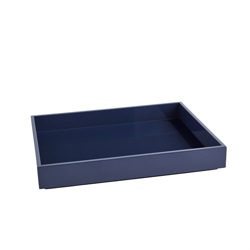 Stack Rectangle Tray-Navy