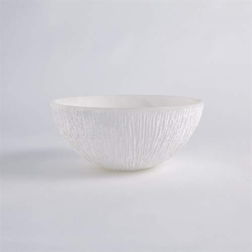 Chiseled Alabaster Bowl-XLg