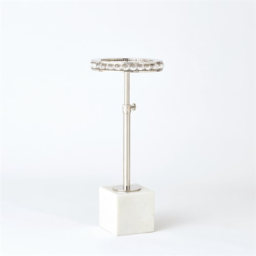 Margot Side Table-Nickel