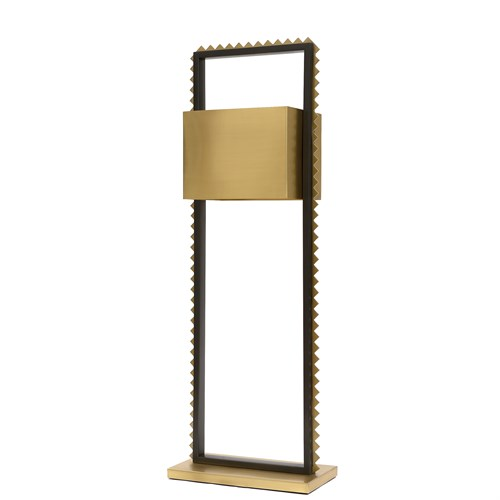Chancy Floor Lamp-Satin Brass/Bronze