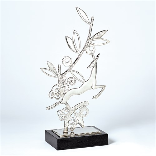 Enchanted Forest Sculpture-Nickel-Each