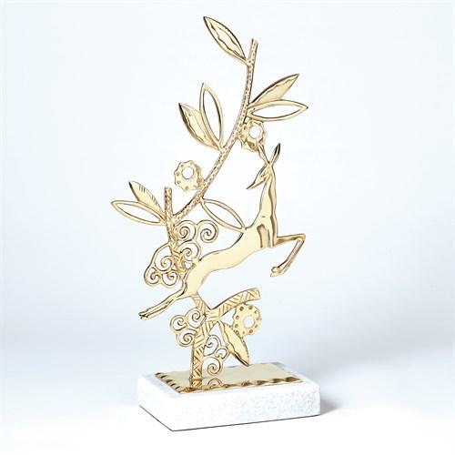 Enchanted Forest Sculpture-Brass