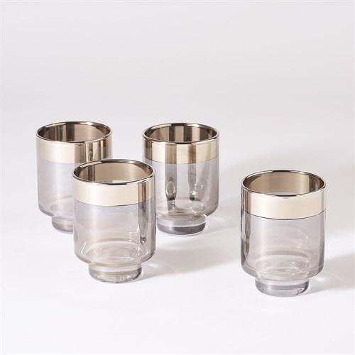 S/4 Twilight Drinking Glasses-Short