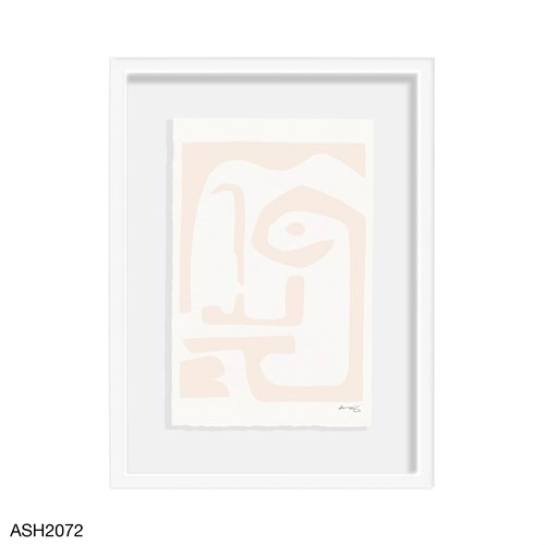 Faces and Places Framed Art-Nude