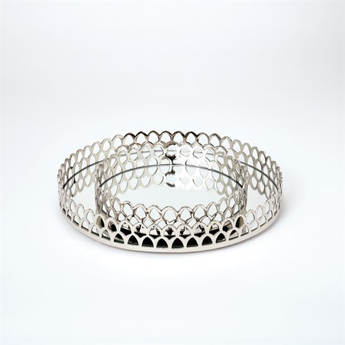 Double Arch Tray-Nickel