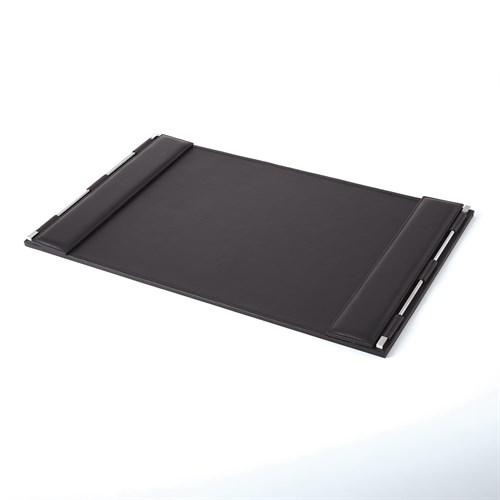 Flap Desk Blotter-Black