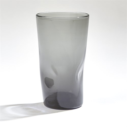 Pinched High Ball Glass-Grey