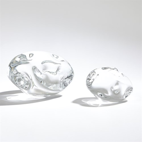 Dimple Paperweight-Clear
