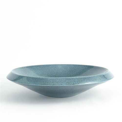 Low Bowl-Round-Teal