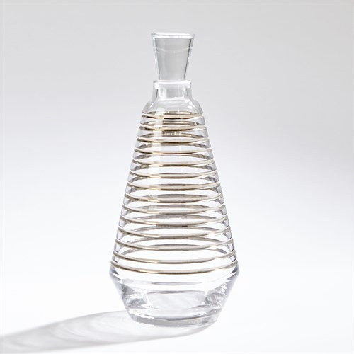 Platinum Banded Decanter