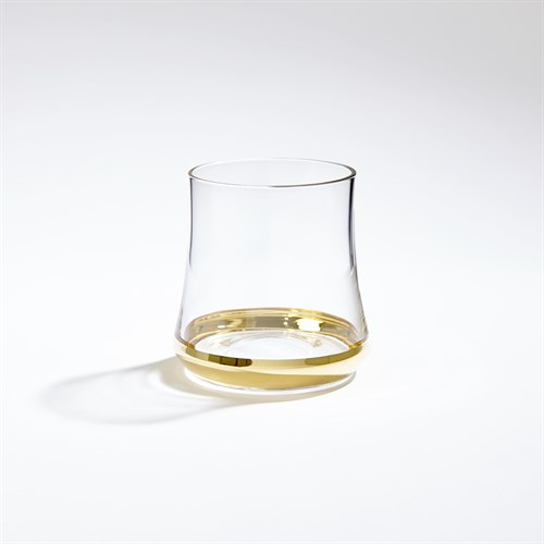 Bell-Bottom Glass-Gold