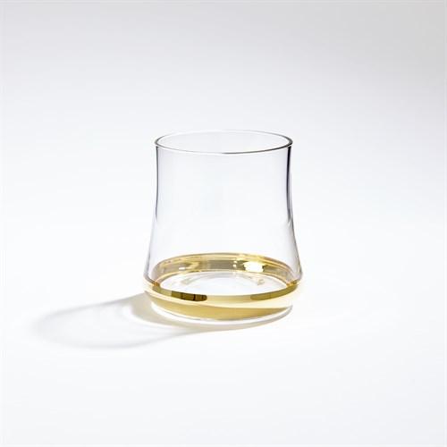 Bell-Bottom Glass-Gold