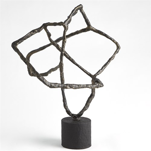 Tangled Sculpture-Bronze