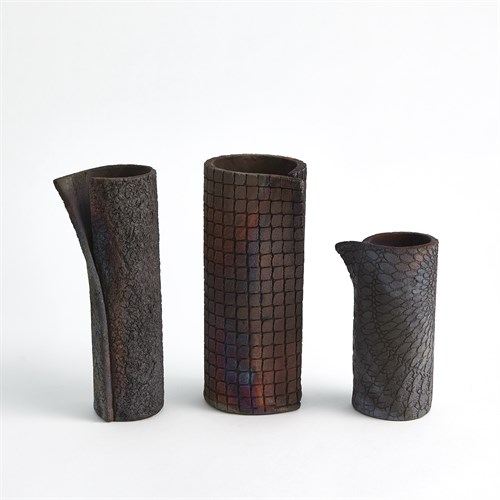 Wrapped Vases-Rust