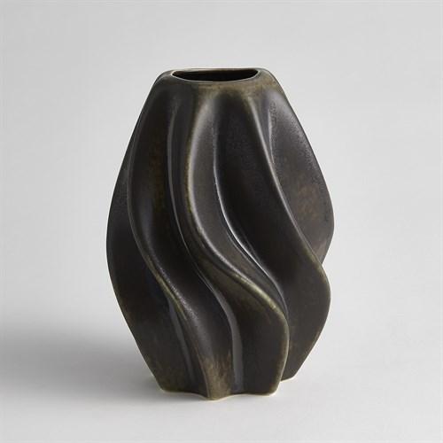 Twist Vase-Bronze