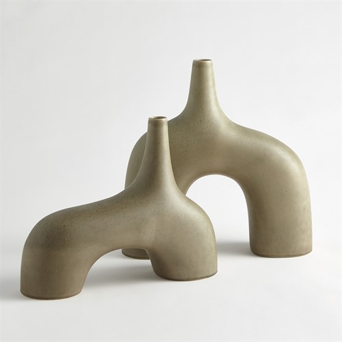 Stretch Vases-Sage