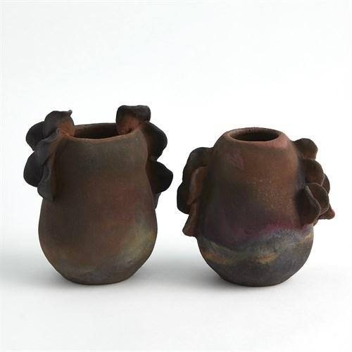 Ruffled Vases