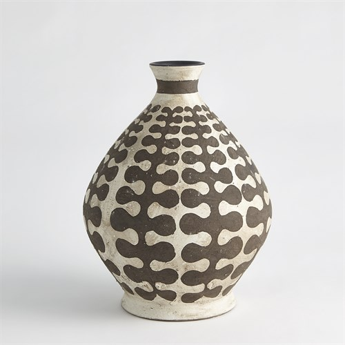 Interlock Round Vase